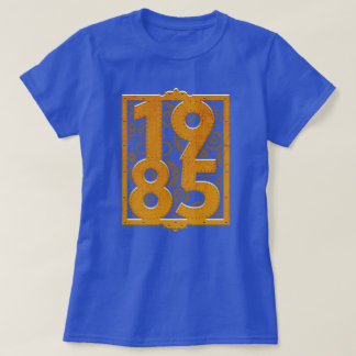 Camisa 1985 do aniversário de Steampunk do vintage