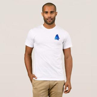 Camisa #1 do logotipo dos homens de PZWD