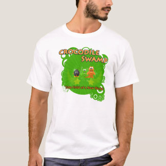 Camisa #1 do pântano do crocodilo
