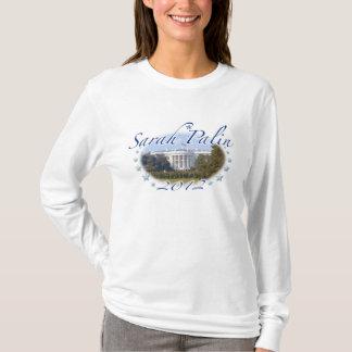 Camisa 2012 branca da casa de Sarah Palin