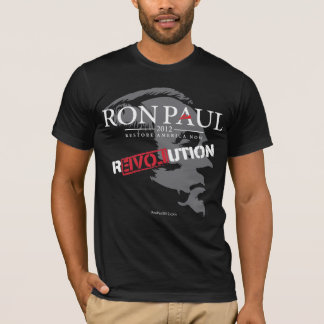 Camisa 2012 da revolução de Ron Paul