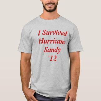 Camisa 2012 da sobrevivência T de Sandy do