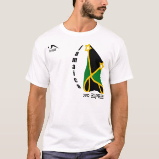 Camisa 2012 expressa de Jamaica T
