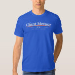 Camisa 2016 gigante do meteoro camiseta
