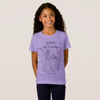 Camisa 2017 do Nutcracker das meninas do programa