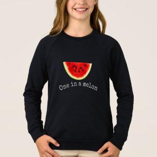 Camisa 2 da melancia do verão de um melão da