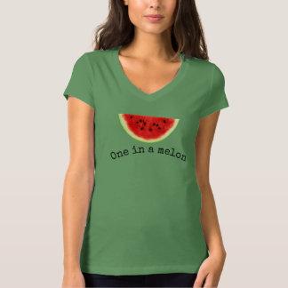 Camisa 2 da melancia do verão de um melão das