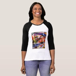 Camisa abstrata 2 do impressão