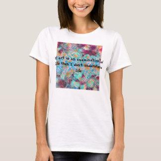 Camisa abstrata da arte tshirt