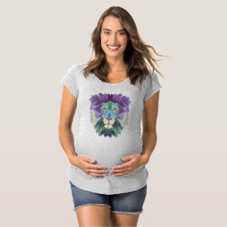 Camisa abstrata elegante colorida do polígono do