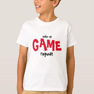 Camisa acorde e do jogo t para gamers