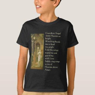 Camisa adolescente do anjo-da-guarda