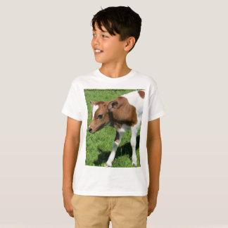 Camisa adorável da vitela