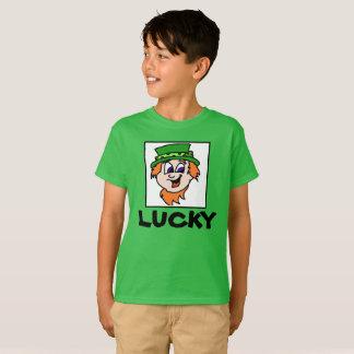 Camisa afortunada do Dia de São Patrício