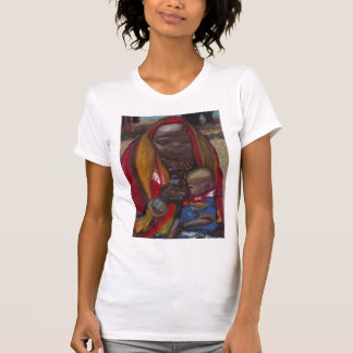 Camisa AFRICANA da MÃE E da CRIANÇA Tshirt