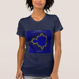 Camisa ajustada do Fractal de Mandelbrot
