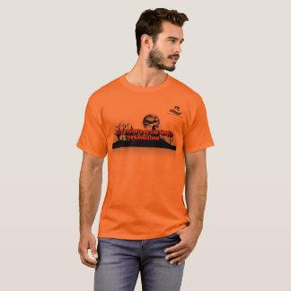 Camisa alaranjada LPOTW do Dia das Bruxas