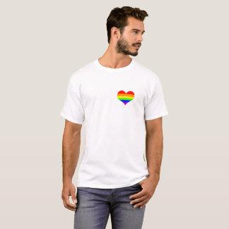 Camisa alegre do amor