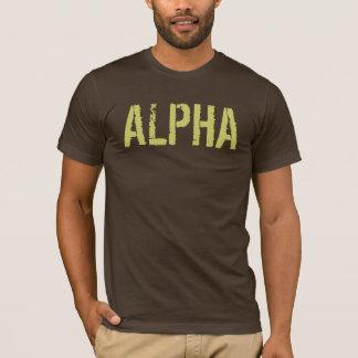 Camisa alfa para homens