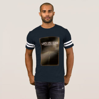 Camisa alta do futebol da estrada de Brown