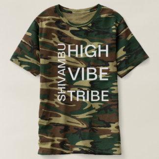 Camisa alta do tribo da impressão de Shivambu da