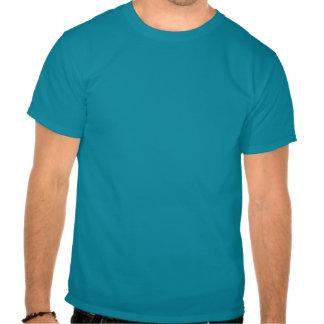 Camisa alternativa do molde do azul (unisex) t-shirts