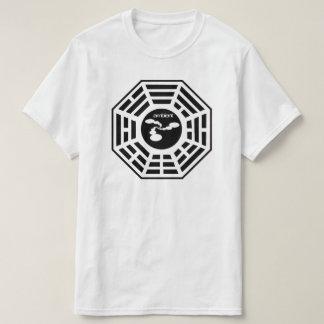 Camisa ambiental do logotipo de Bagua das