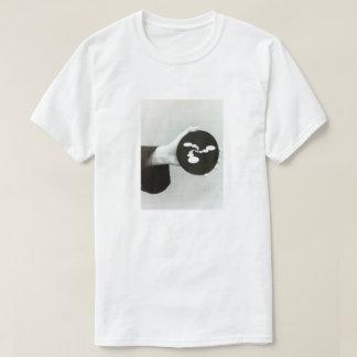 Camisa ambiental do sinal da mão das abstracções