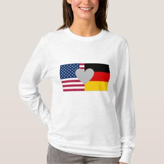 Camisa americana alemão