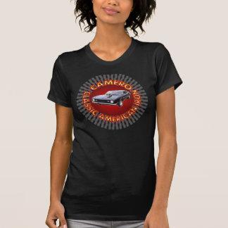 Camisa americana clássica do ferro de Camero Tshirt