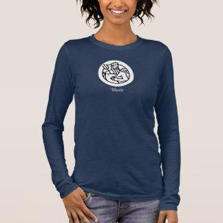 Camisa americana do roupa no marinho - mulheres