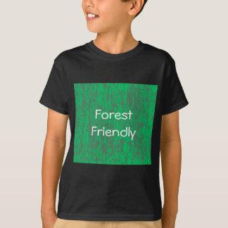 Camisa amigável da floresta T