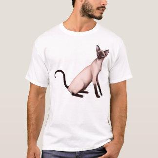 Camisa amigável do gato Siamese