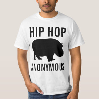Camisa anónima de Hip Hop Camisetas