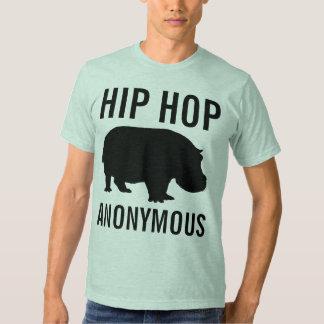 Camisa anónima de Hip Hop Tshirt