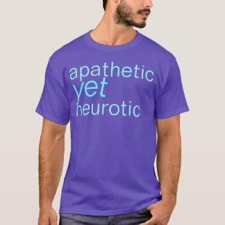 camisa apática contudo neurótico