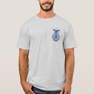 Camisa aposentada de MSgt da polícia de segurança