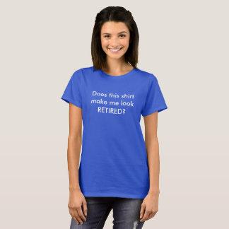 Camisa aposentada engraçada