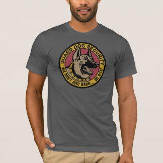 Camisa armada e perigosa da segurança do cão de