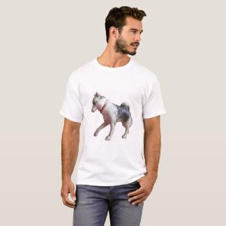 Camisa ártica do explorador T do cão ronco do