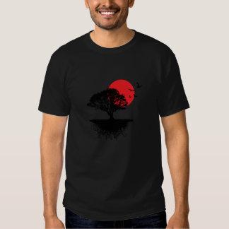 Camisa asiática do nascer do sol tshirt