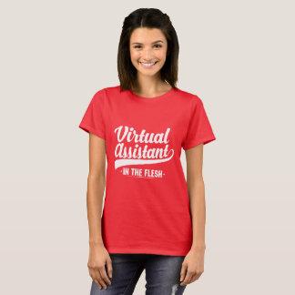 Camisa assistente virtual do padrão T