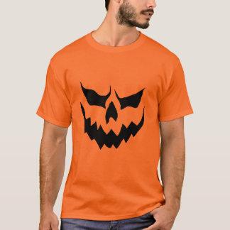 Camisa assustador da abóbora