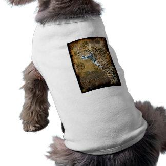 Camisa asteca manchada do animal de estimação do g camisa para caes