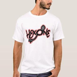 Camisa avaliado do Hex T