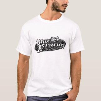 Camisa azul da banda de Astroturf