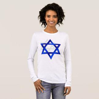 Camisa azul da beleza de Ras Tafari