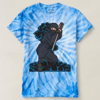 Camisa azul de Ninja das armas nucleares