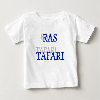 Camisa azul do bebê T de Rastafari