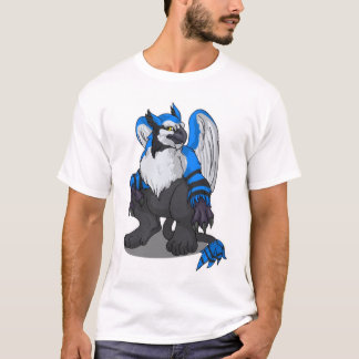 Camisa azul mais doméstica de Winja da psique